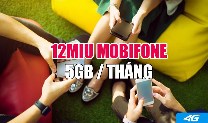 Đăng ký gói 12MIU Mobifone xài internet cả năm