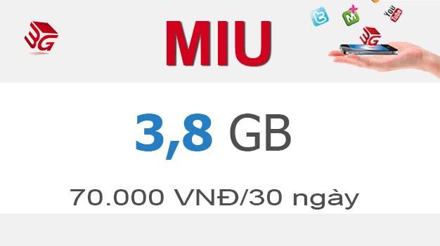 Đăng ký gói miu mobifone có ngay 3,8GB tốc độ cao