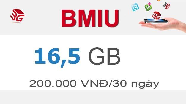 Đăng ký gói Bmiu Mobifone có ngay 16,5GB Data giá chỉ 200.0