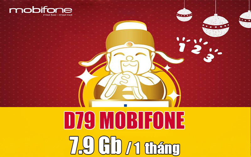 Đăng ký D79 Mobifone, tha hồ lướt Web cả tháng với 7,9Gb Data