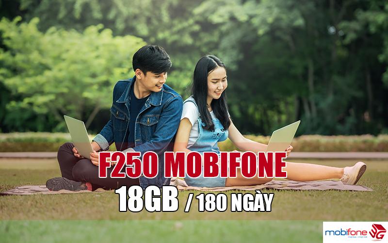 Cách đăng ký gói cước F250 Mobifone trọn gói 6 tháng