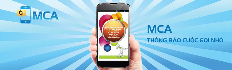 MCA30 Mobifone - Dịch vụ thông báo cuộc gọi nhỡ của Mobifone