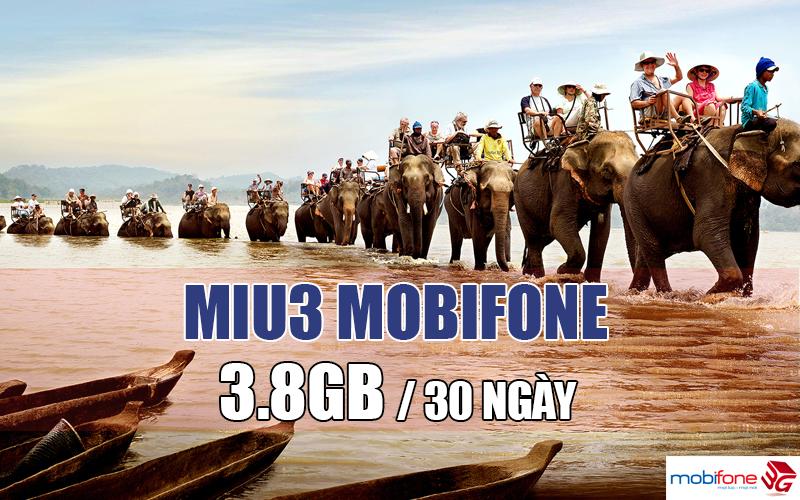 MIU3 Mobifone, gói cước 3G giá rẻ cho các tỉnh Tây Nguyên