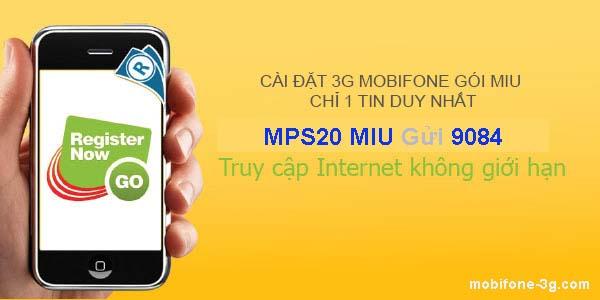 Cài 3G cho Mobi – Cách cài đặt 3G mạng MobiFone 2018