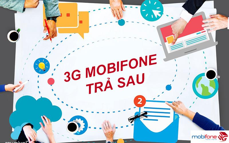 Đăng ký 3G Mobifone trả sau nhận ưu đãi Data khủng