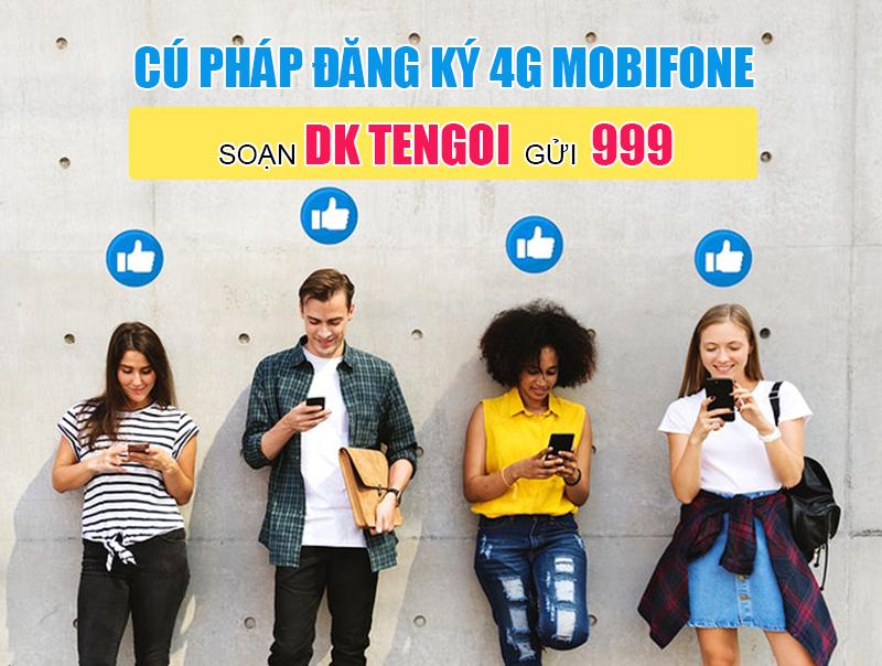 Cú pháp đăng ký 4G Mobifone