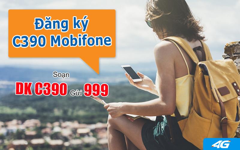 Đăng ký gói C390 Mobifone dễ dàng bằng tin nhắn