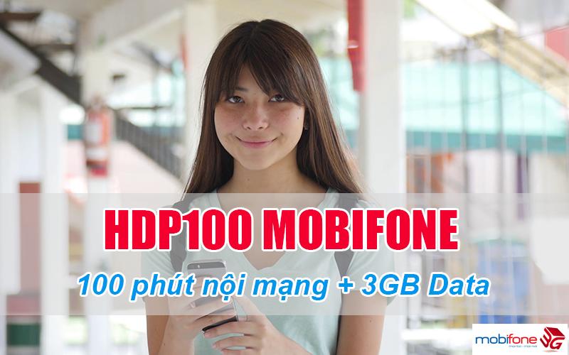 Đăng ký gói HDP100 Mobifone dễ dàng bằng tin nhắn