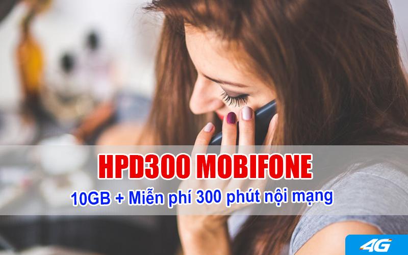Đăng ký gói HDP300 Mobifone gọi nội mạng thả ga