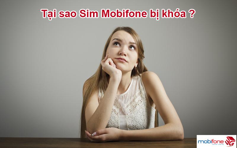 Các lý do sim Mobifone bị khóa