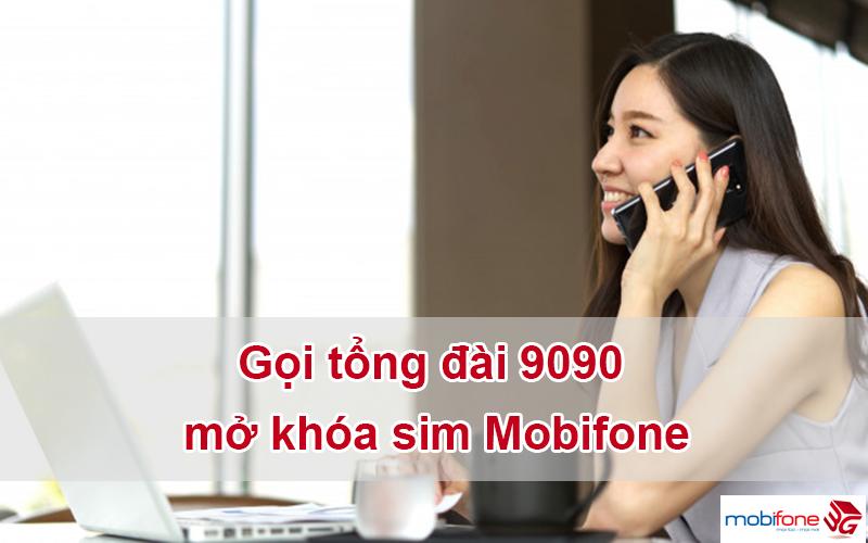 Cách mở khóa sim Mobifone đơn giản qua 9090