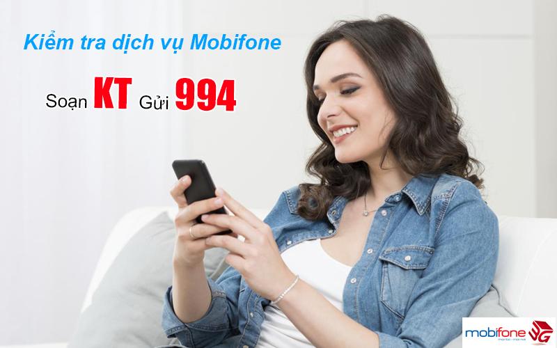 Kiểm tra dịch vụ của MobiFone bằng cách soạn tin nhắn đơn giản